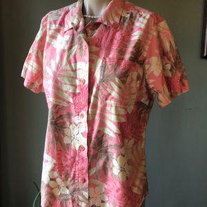 Columbia Hawaiian Shirt